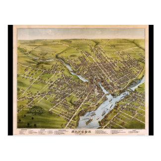 Ciudad de Bangor el condado de Penobscot Maine Postal