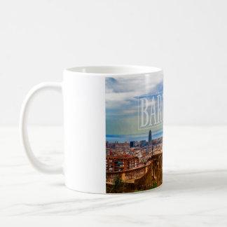Ciudad de Barcelona Taza De Café