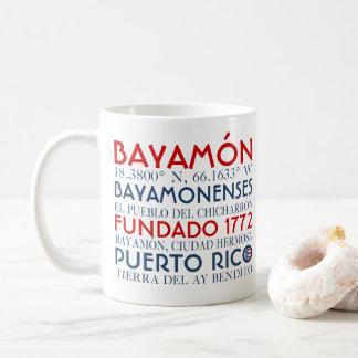 Ciudad de Bayamon, Puerto Rico Taza De Café