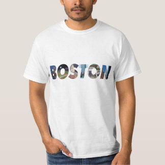 Ciudad de Boston Camiseta