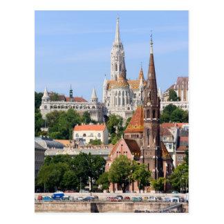 Ciudad de Budapest en Hungría Postal