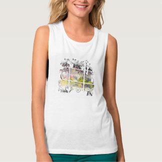Ciudad de Grunged Camiseta De Tirantes Anchos