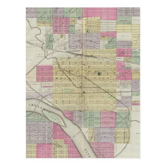 Ciudad de Hutchinson, el condado de Reno, Kansas Postal