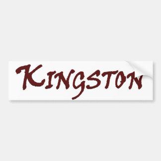 Ciudad de Kingston mA Pegatina Para Coche