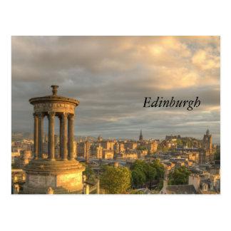 Ciudad de la postal de Edimburgo