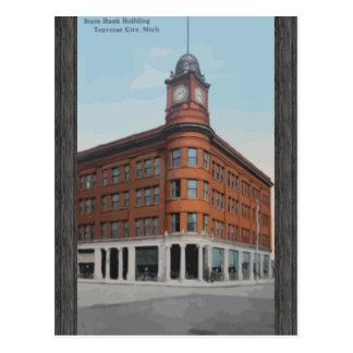 Ciudad de la travesía del edificio de Banco Postal