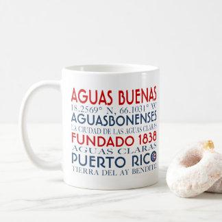 Ciudad de los Aguas Buenas, Puerto Rico Taza De Café