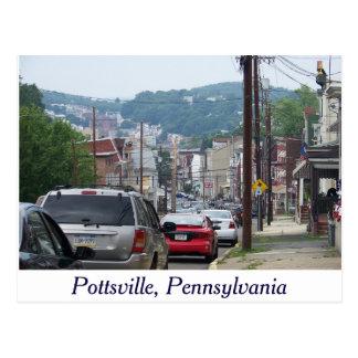 Ciudad de Pottsville, postal de Pennsylvania
