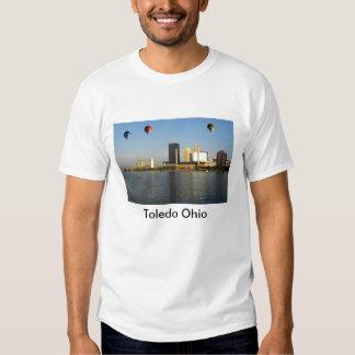 Ciudad de Toledo Ohio Camisas