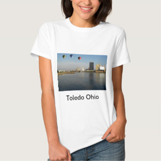 Ciudad de Toledo Ohio Camiseta