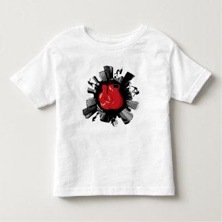 Ciudad del boxeo camiseta de bebé