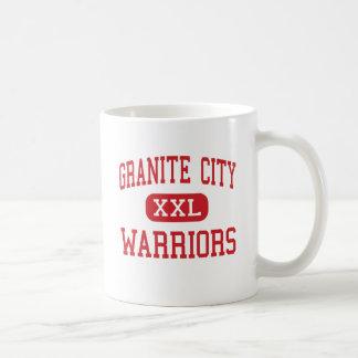Ciudad del granito - guerreros - alta - ciudad del taza básica blanca