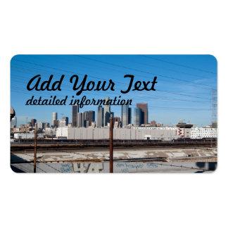 ciudad del la tarjetas de visita