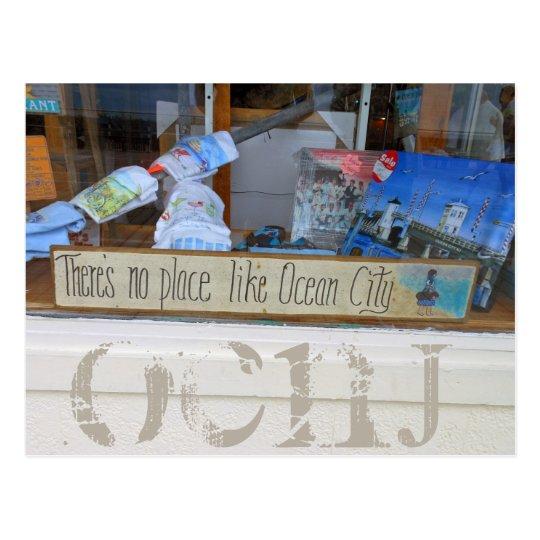 Ciudad del océano, postal de New Jersey - Marty