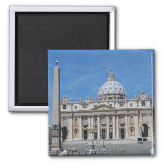 Ciudad del Vaticano de la basílica de San Pedro Imán Cuadrado