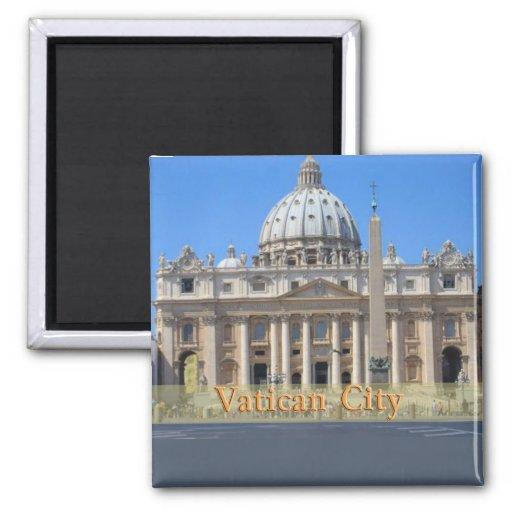 Ciudad del Vaticano Iman Para Frigorífico