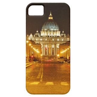 Ciudad del Vaticano, Roma, Italia en la noche Funda Para iPhone SE/5/5s