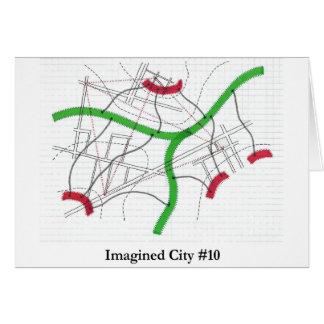 Ciudad imaginada #10 felicitación