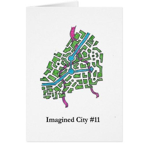 Ciudad imaginada #11 felicitaciones