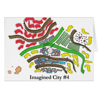 Ciudad imaginada #4 tarjeton