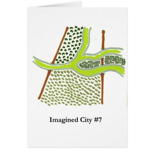 Ciudad imaginada #7 tarjeton