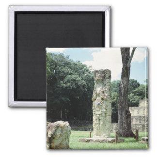 Ciudad maya de las ruinas de la foto de Copan Imán