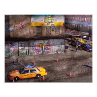 Ciudad - Nueva York - Greenwich Village - el color Folleto 21,6 X 28 Cm