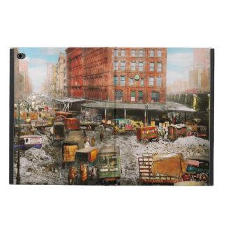 Ciudad - Nueva York NY - pegada en una rodera 1920 Funda Para iPad Air 2