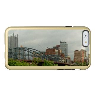 Ciudad - PA de Pittsburg - la ciudad magnífica de Funda Para iPhone 6 Plus Incipio Feather Shine