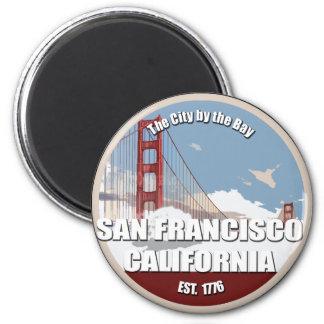 Ciudad por la bahía, San Francisco California Imán