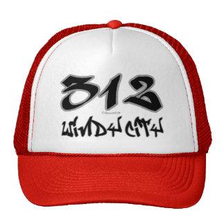 Ciudad ventosa del representante (312) gorro de camionero