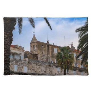 Ciudad vieja, fractura, Croacia Salvamanteles