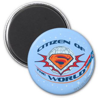 Ciudadano del superhombre del mundo imán