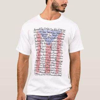 Ciudades de Puerto Rico Camiseta
