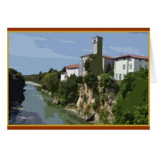 Cividale del Friuli, Italia Tarjeta De Felicitación