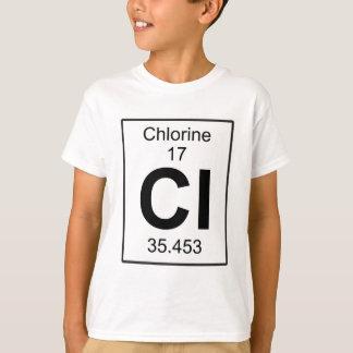 Cl - cloro camiseta