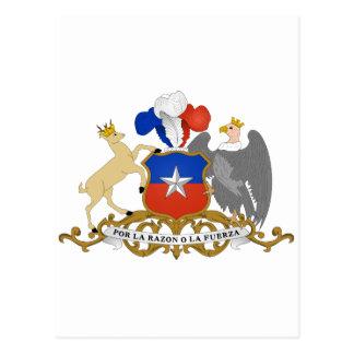 CL del escudo de armas de Chile Postal