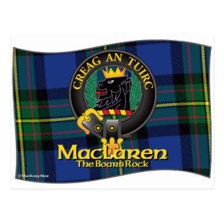 Clan de MacLaren Postal