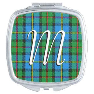 Clan escocés MacLeod de la belleza del tartán de Espejos De Maquillaje