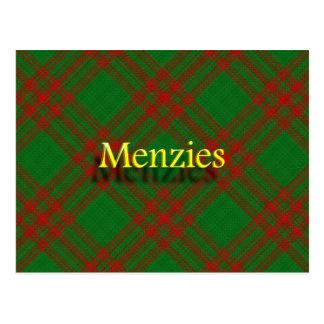 Clan escocés Menzies Postal