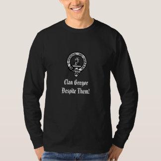 ¡Clan Gregor a pesar de ellos! Camiseta
