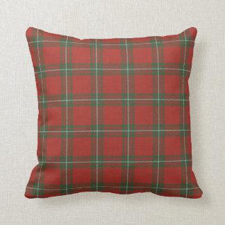 Clan Gregor almohada roja y verde de MacGregor del