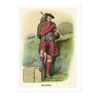 Clan MacAlister Postal