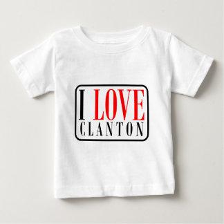 Clanton, diseño de la ciudad de Alabama Camisas
