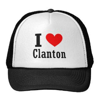 Clanton, diseño de la ciudad de Alabama Gorra