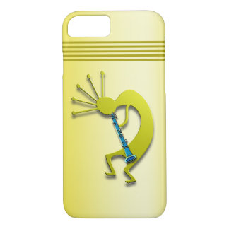 Clarinet Kokopelli en oro Funda iPhone 7