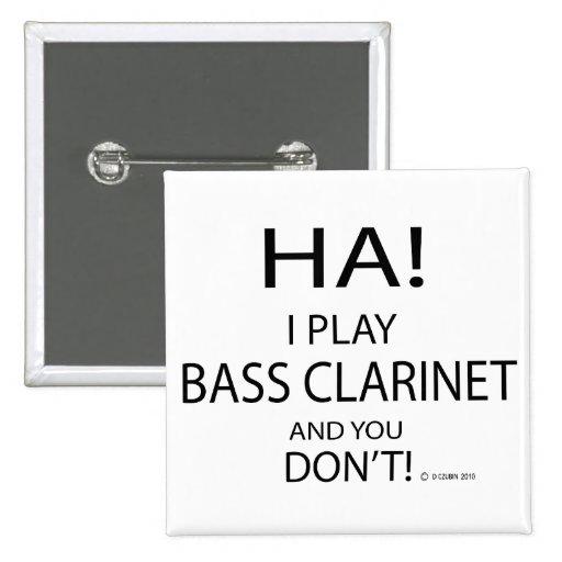 Clarinete bajo de la ha pin