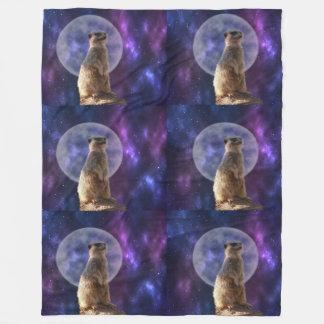 Claro de luna de Meerkat, manta grande del paño