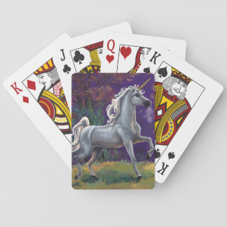 Claro del unicornio baraja de cartas