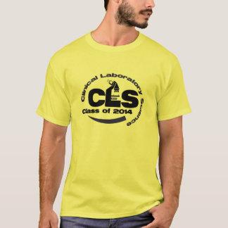 Clase clínica de la ciencia del laboratorio de la camiseta